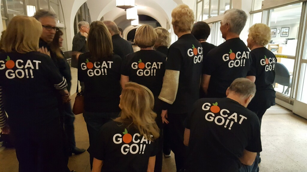 GOCAT wins formal support for site location at Grejalva Park!!